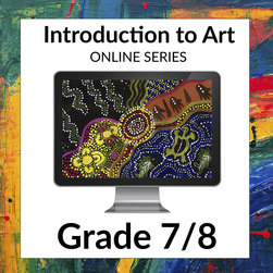 Intro to Arts Attack Video-based Online Art Curriculum-1-Year License