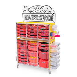 Maker Space Activity Cart - Strawberry