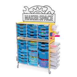 Maker Space Activity Cart - Blueberry