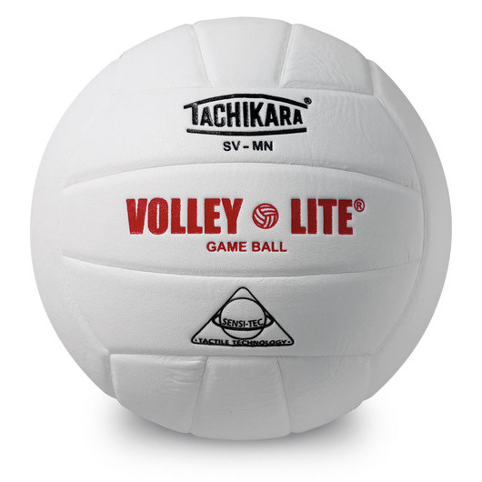 Tachikara® SVMN Volley-Lite® Volleyball - White