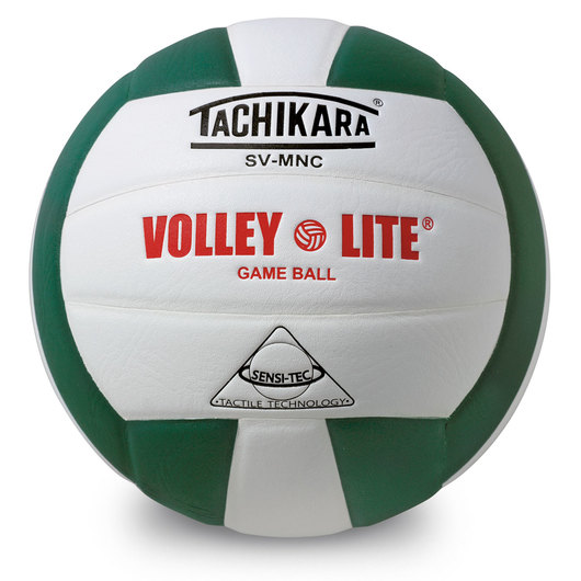 Tachikara® SVMN Volley-Lite® Volleyball - Dark Green/White