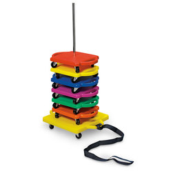 Scooter Board Stacker
