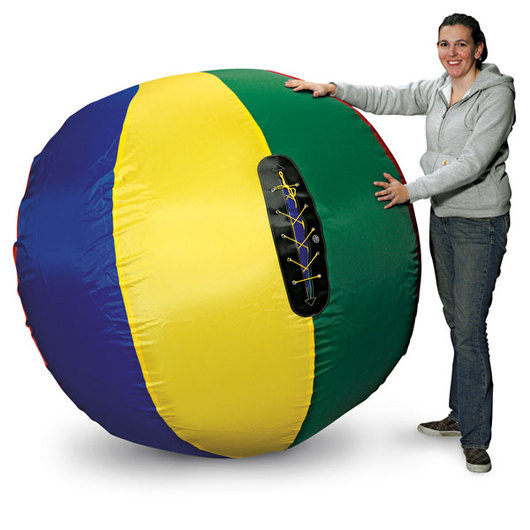 Multicolored Nylon Cageball Cover and Bladder - 72 in.