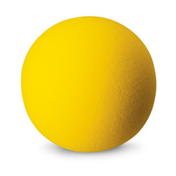 7 in. Uncoated Foam Ball