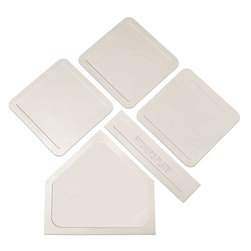 Indoor/Outdoor Throw Down Base Set - White