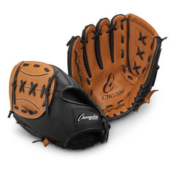 Champion® Leather/Vinyl Glove - Left-Hand Thrower - 11 in.