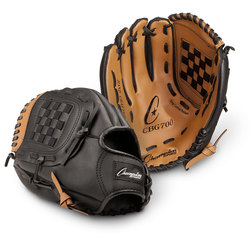 Champion® Leather/Vinyl Glove - Left-Hand Thrower - 12 in.