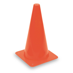 High Visibility Orange Cone - 12 in.