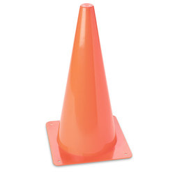 High Visibility Orange Cone - 15 in.