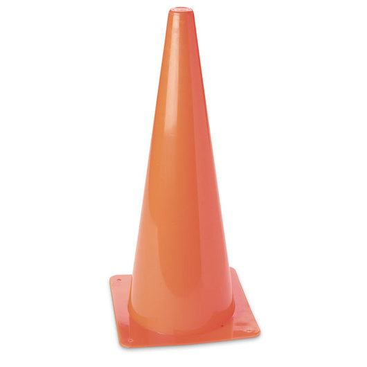 High Visibility Orange Cone - 18 in.