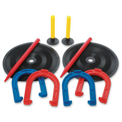 Champion® Sports Rubber Horseshoes Set