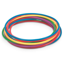 24 in. Economy Plastic Hoops - One Dozen