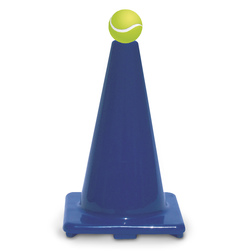 12 in. Poly Cone - Blue
