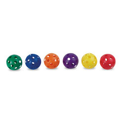 Whiffle Softballs - 3-1/2 in. dia. - Set of 6