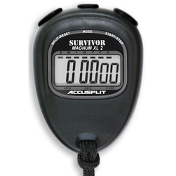 Accusplit S2 Survivor II Stopwatch - Black