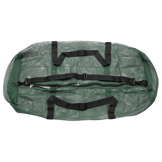 Oversized Mesh Duffle Bag - Green