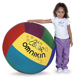 Omnikin 33 in. Multicolor Ball