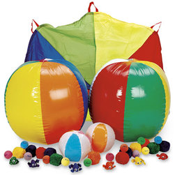Kaleid-A-Color Parachute Popcorn Activity Kit