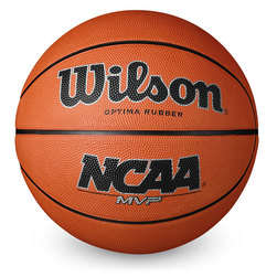 Wilson NCAA MVP Official Size Basketball - Junior Size 5 (27-1/2 in.)