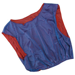 Adult-Size Reversible Scrimmage Vest - Blue/Red