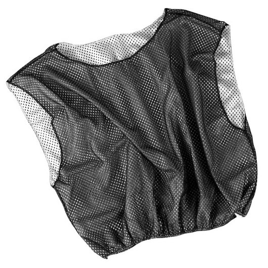 Adult-Size Reversible Scrimmage Vest - Black/White