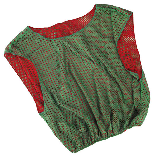 Adult-Size Reversible Scrimmage Vest - Green/Red