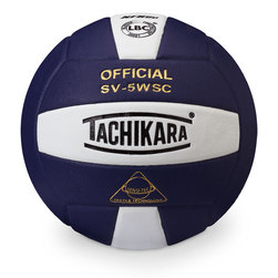 Sensi Tec Indoor Volleyball by Tachikara - Navy/White