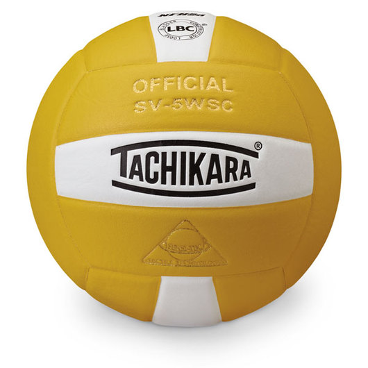 Sensi Tec® Indoor Volleyball by Tachikara® - Gold/White