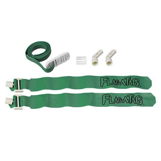42 in. Sonic Flag-A-Tag® Belts - Green