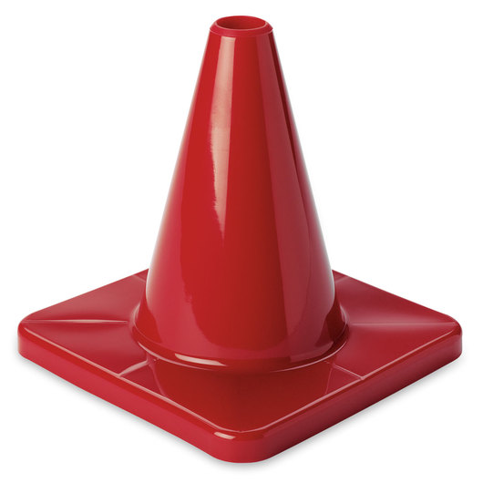 6 in. Game Cone - Red
