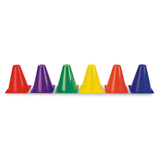 6 in. Plastic Cone Set