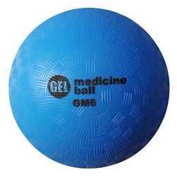 Champion® Gel-Filled Medicine Ball - 4-lb. - Blue