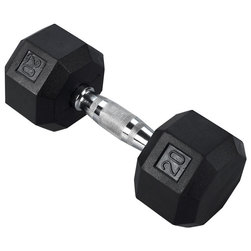 Chrome Dumbbell - 20 lbs.