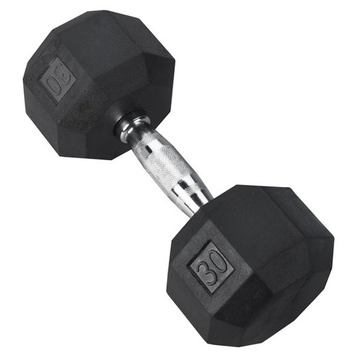 Chrome Dumbbell - 30 lbs.