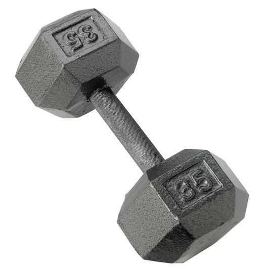 Hexagon Dumbbell - 35 lbs.