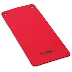 Aeromat™ Elite Workout Mats with Eyelets - Red, 1/2 in. x 20 in. x 48 in.