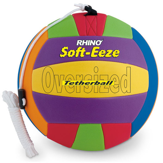 RHINO® Soft-Eeze Tetherball - Oversized, 10 in.
