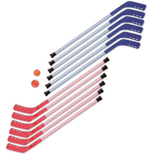 Shield® PreK Deluxe Plastic Hockey Set