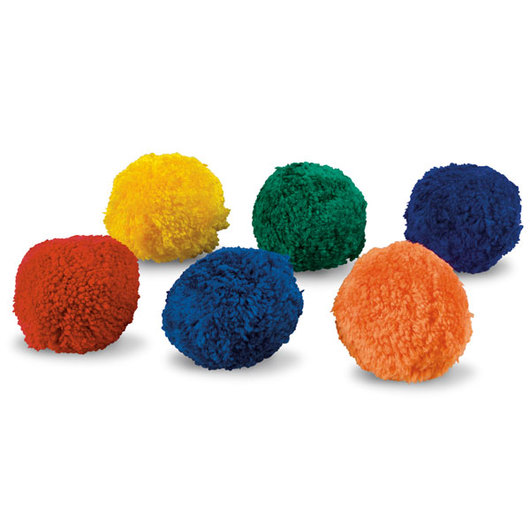Fleece Ball Set of 6 - 3 in. each