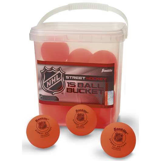 Franklin® NHL® Street Hockey Ball Bucket