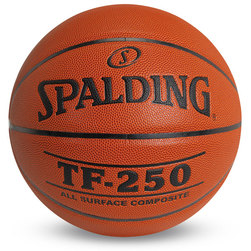 Spalding TF-250 Basketball - Men's Size 7 (29-1/2 in.)