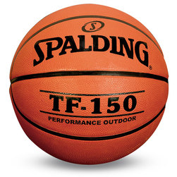 Spalding TF-150 Basketball - Junior Size 5 (27-1/2 in.)