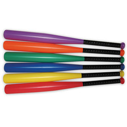 MAC-T Heavy-Duty Baseball Bats - Set of 6