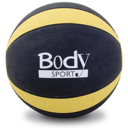 Body Sport Medicine Ball - 8 lb., Yellow