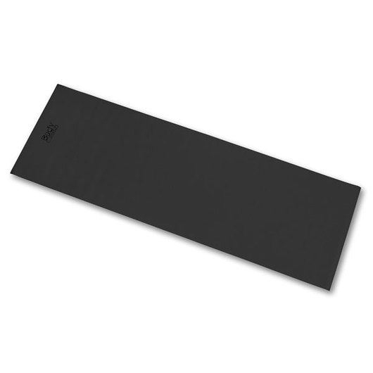 Body Sport® Yoga and Fitness Mat - 1/8 in. Thick, Black
