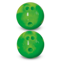 MAC-T 3-lb. Vinyl Rubber Bowling Ball - Electric Lime/Yellow