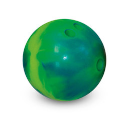 MAC-T 5-lb. Vinyl Rubber Bowling Ball - Electric Blue/Yellow