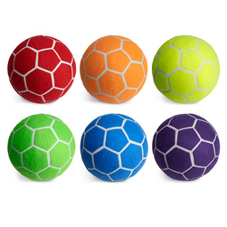 MAC-T Indoor Felt Soccer Ball Set - Size 4