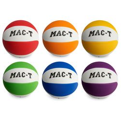 MAC-T® Soft Tek Basketballs - Men's Size 29-1/2 in. - Set of 6