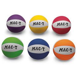 MAC-T Soft Tek Basketballs - Junior Size  27-1/2 in. - Set of 6